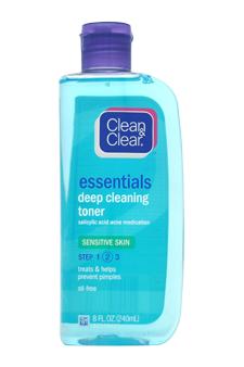 Essentials Deep Cleaning Toner For Sensitive Skin Step 2