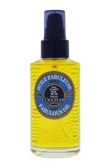 Shea Butter Fabulous Oil by L'Occitane for Unisex - 3.4 oz Oil