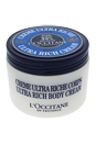 Shea Butter Ultra Rich Body Cream by L'Occitane for Unisex - 7 oz Body Cream
