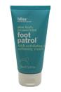 Aloe Leaf + Peppermint Foot Patrol AHA Exfoliating & Softening Cream by Bliss for Unisex - 2.5 oz Exfoliating & Softening Cream