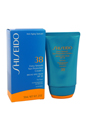 Extra Smooth Sun Protection Cream N Broad Spectrum SPF 38 For Face by Shiseido for Unisex - 2 oz Sunscreen