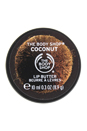 Coconut Lip Butter by The Body Shop for Unisex - 0.3 oz Lip Butter