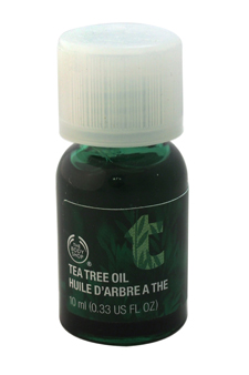 Tea Tree Oil by The Body Shop for Unisex - 0.33 oz Oil