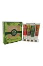 Handcare Cream Collection Travel Exclusive by The Body Shop for Unisex - 4 Pc Kit 1oz Rose, 1oz Hemp, 1oz Absinthe, 1oz Almond