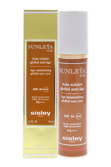 Sunleya Age Minimizing Global Sun Care SPF30 High Protection by Sisley for Unisex - 1.7 oz Cream