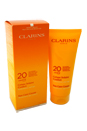 Sun Care Cream Moderate Protection UVB/UVA 20 by Clarins for Unisex - 7 oz Cream