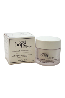 Renewed Hope in a Jar Eye by Philosophy for Unisex - 0.5 oz Eye Cream