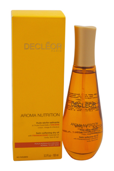 Aroma Nutrition Satin Softening Dry Oil by Decleor for Unisex - 3.3 oz Oil