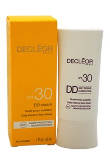 DD Cream Daily Defense Fluid Shield SPF 30 by Decleor for Unisex - 1 oz Cream