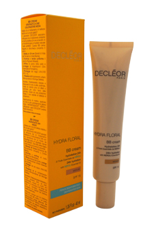 Hydra Floral BB Cream 24hr Hydration SPF 15 - Medium by Decleor for Unisex - 1.35 oz Cream