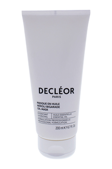 Hydra Floral Ultra-Moisturising & Plumping Expert Mask by Decleor for Unisex - 6.7 oz Mask (Salon Size)