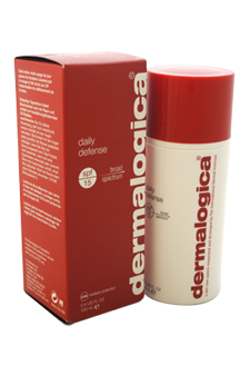 Daily Defense SPF 15 by Dermalogica for Unisex - 3.4 oz Lotion