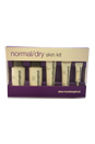 Starter Set for Normal/Dry Skin by Dermalogica for Unisex - 5 Pc kit 1.7oz Special cleansing Gel, 0.3oz Gentle Cream Exfoliant, 1.7oz Multi-Active Toner, 0.75oz Skin Smoothing Cream, 0.1oz Intensive Eye Repair