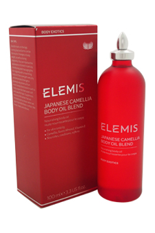 Japanese Camellia Body Oil Blend by Elemis for Unisex - 3.4 oz Body Oil