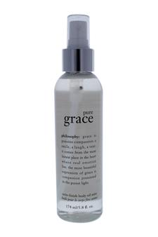 Pure Grace Satin-Finish Body Oil Mist by Philosophy for Unisex - 5.8 oz Oil Mist