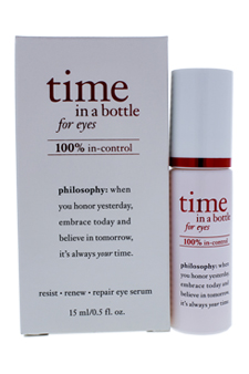Philosophy Time In A Bottle For Eyes Daily Age Defying Serum 0.5 Oz