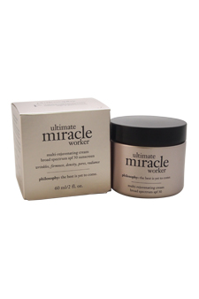 Ultimate Miracle Worker Multi-Rejuvenating Cream Broad Spectrum SPF30 by Philosophy for Unisex - 2 oz Sunscreen