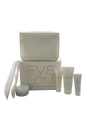 Travel Essentials Collection by Eve Lom for Unisex - 5 Pc Kit 1oz Cleanser, 1.6oz Morning Time Cleanser, 0.49oz Rescue Mask, 0.85oz TLC Radiance Cream, Muslin Cloth