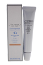 Urban Environment Tinted UV Protector Broad Spectrum SPF 43 - # 1 For Face by Shiseido for Unisex - 1.1 oz Sunscreen