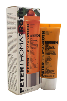 CC Cream Broad Spectrum SPF 30 Complexion Corrector - Medium to Tan by Peter Thomas Roth for Unisex - 1.7 oz Sunscreen