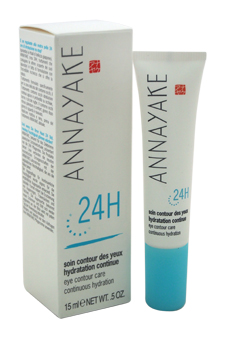 24H Eye Contour Care Continuous Hydration by Annayake for Unisex - 0.5 oz Hydrator