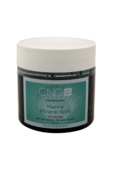 Spapedicure Marine Mineral Bath by CND for Unisex - 18 oz Mineral Bath