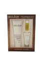 Cleansing & Radiant Ritual Kit by Decleor for Unisex - 3 Pc Kit 3.3oz Aroma Cleanse, 0.16oz Aromessence Neroli Serum, 0.5oz Aurabsolu Intense Glow Awakening Cream