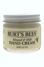 Almond & Milk Hand Cream by Burt's Bees for Unisex - 2 oz Hand Cream