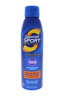 Coppertone Sport Sunscreen Continuous Spray SPF 100