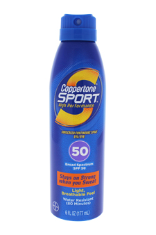 Coppertone Sport Sunscreen Continuous Spray SPF 50
