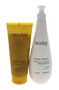 Sublime Body Duo by Decleor for Unisex - 2 Pc Kit 6.7oz Body Exfoliator, 13.5oz Aroma Confort Moisturising Body Milk