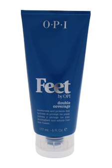 Feet Double Coverage by OPI for Unisex - 6 oz Cream