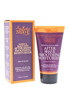 Honey & Black Seed After Shave Smoothing Moisturizer by Shea Moisture for Unisex - 4 oz Moisturizer
