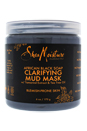 African Black Soap Clarifying Mud Mask by Shea Moisture for Unisex - 6 oz Mask
