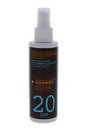 Clear Sunscreen Body Walnut & Coconut SPF 20 by Korres for Unisex - 5.07 oz Spray