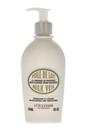 Moisturizing and Smoothing Milk Veil by L'Occitane for Unisex - 8 oz Cream