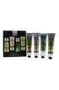 The Expert Hand Care Collection by The Body Shop for Unisex - 4 Pc Kit 2 x 1oz Hemp Hard-Workin Hand Protector, 1oz Almond Hand & Nail Manicure Cream, 1oz Absinthe Purifying Hand Cream