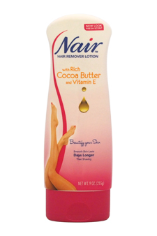 Hair Remover Lotion with Cocoa Butter For Legs & Body by Nair for Women - 9 oz Lotion