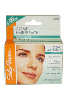 Creme Hair Bleach for Face Fast & Gentle by Sally Hansen for Women - 1 Pack Bleach For Face