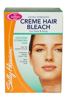Extra Strength Creme Hair Bleach for Face & Body & Stubborn Hair by Sally Hansen for Women - 1 Pack Creme Hair Bleach