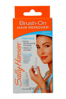 Pain Free Brush On Hair Remover Creme For Face Extra Moisturizing by Sally Hansen for Women - 1 Pack Hair remover