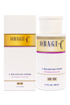 Obagi C Rx System C-Balancing Toner For Normal to Oily Skin by Obagi for Women - 6.7 oz Toner
