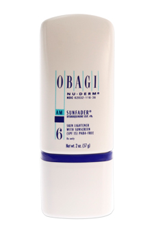 Obagi Nu-Derm #6 AM Sunfader Skin Lightener with Sunscreen SPF 15 by Obagi for Women Cream