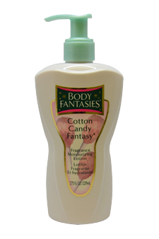 Cotton Candy Fantasy Moisturizing Lotion by Body Fantasies for Women - 7.75 oz Lotion