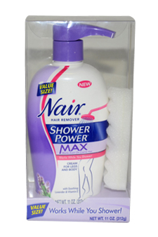 Shower Power Max Hair Remover by Nair for Women - 11 oz Hair Remover