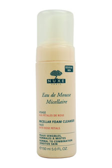 Eau de Mousse Micellaire - Micellar Foam Cleanser by Nuxe for Women - 5 oz Foam Cleanser