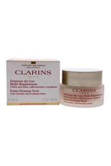 Extra-Firming Neck - Anti Wrinkle Rejuvenating Cream by Clarins for Women - 1.6 oz Cream