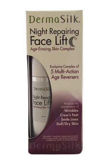Night Repairing Face Lift by DermaSilk for Women - 1 oz Anti-Aging Cream