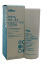Thinny Thin Chin Neck Firming Cream by Bliss for Women - 1.7 oz Cream