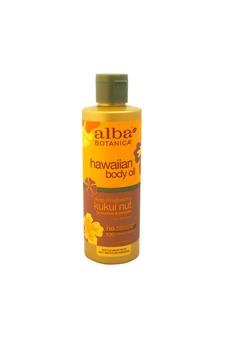 Kukui Nut Massage Oil by Alba Botanica for Women - 8.5 oz Oil